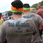 t shirt saying bad mudder