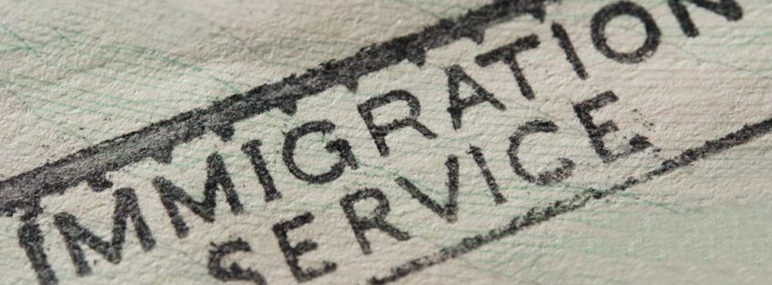 immigration service stamp