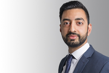 Headshot of Navid Raja
