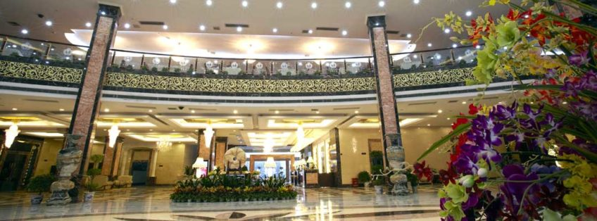 image of hotel lobby