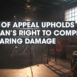 Court Of Appeal Upholds Musician's Right To Compensation For Hearing Damage