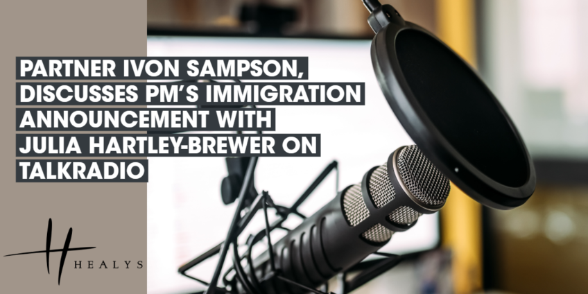 Ivon Sampson a partner in our immigration team discusses with Julia Hartley-Brewer on her Tal Radio show the PM's immigration announcement