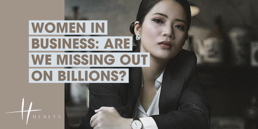 businesswoman staring into the camera while crossing her arms