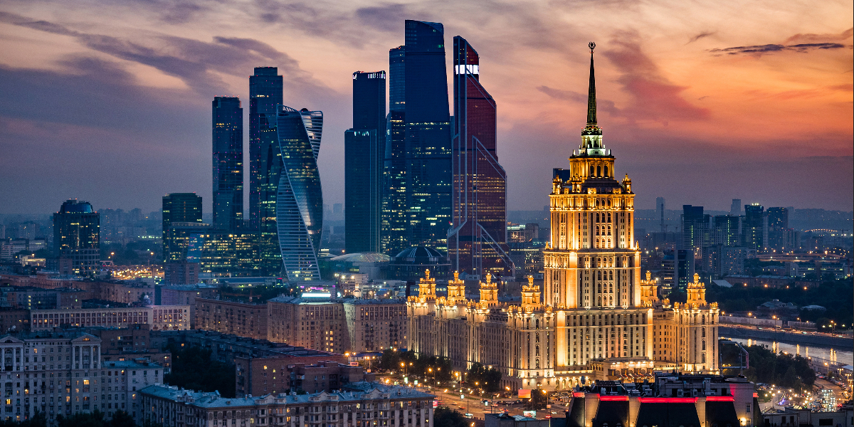 image of moscow skyline