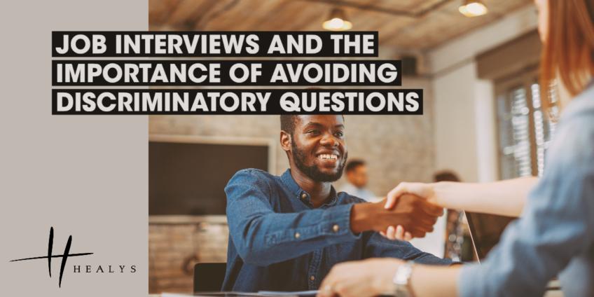 Interviewee shaking employers hand