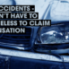Road Accidents – You Don't Have to Be Blameless to Claim Compensation