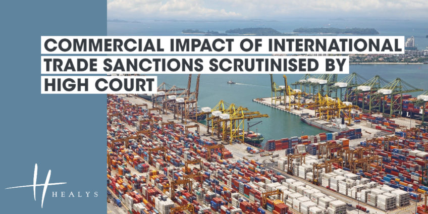 International trading port