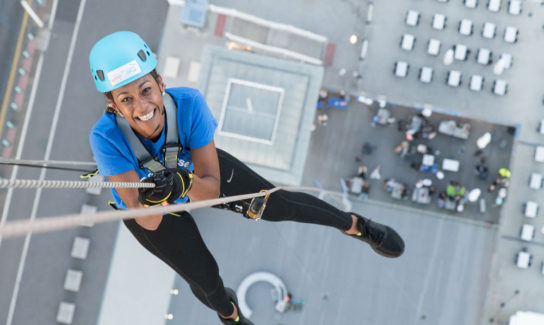 Healys' Stephanie Prior on her drop from the i360 in Brighton