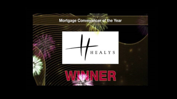Healys are delighted to announce that they have won the Mortgage Conveyancer of the Year award at this year's Mortgage Awards.
