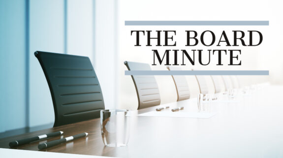 The Board Minute - Healys LLP